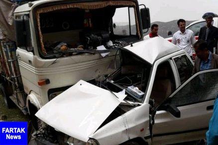 دو کودک در سانحه رانندگی کرمانشاه جان باختند