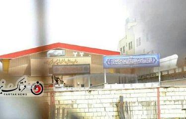 اختصاصی/تصاویری از آتش سوزی بیمارستان میلاد اصفهان
