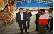 تجهیز بالگرد جمعیت هلال احمر استان کرمانشاه به قابلیت اطفاء حریق