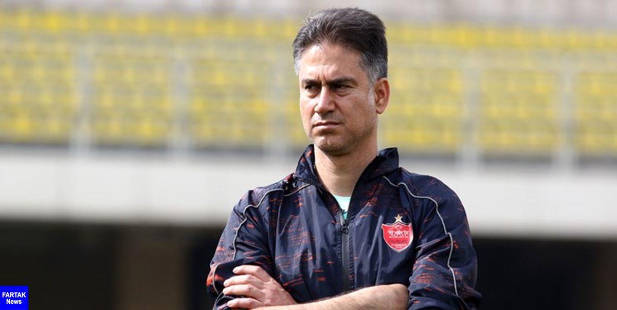 مربی پرسپولیس: اگر لیگ برتر تعطیل شود باید بدون آمادگی در آسیا بازی کنیم