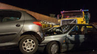 تصادف زنجیرهای ۸ کشته و زخمی در پی داشت