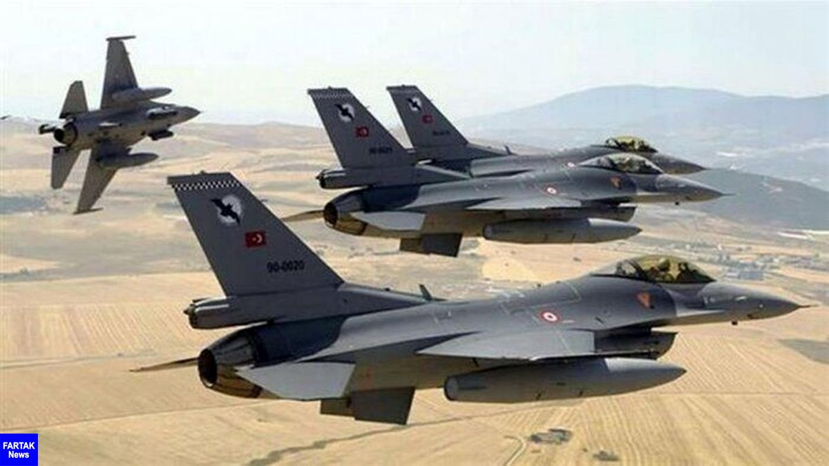 حمله هوایی ترکیه به شمال عراق