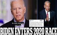 جو بایدن رسما نامزد انتخابات ۲۰۲۰ ریاستجمهوری آمریکا شد