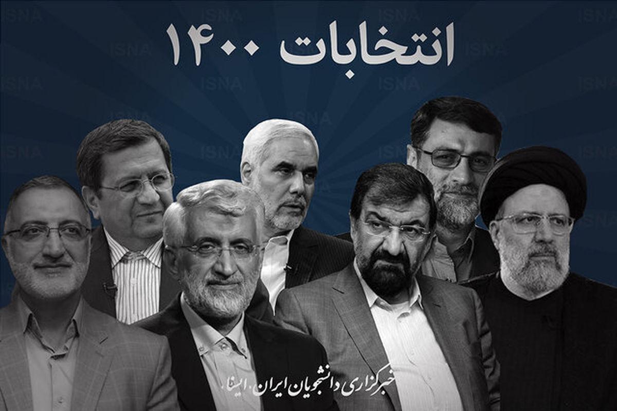 انتخابات 1400/رییسی میماند و رضایی!