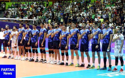 پایان لیگ ملت های والیبال و کسب رتبه دهم ایران