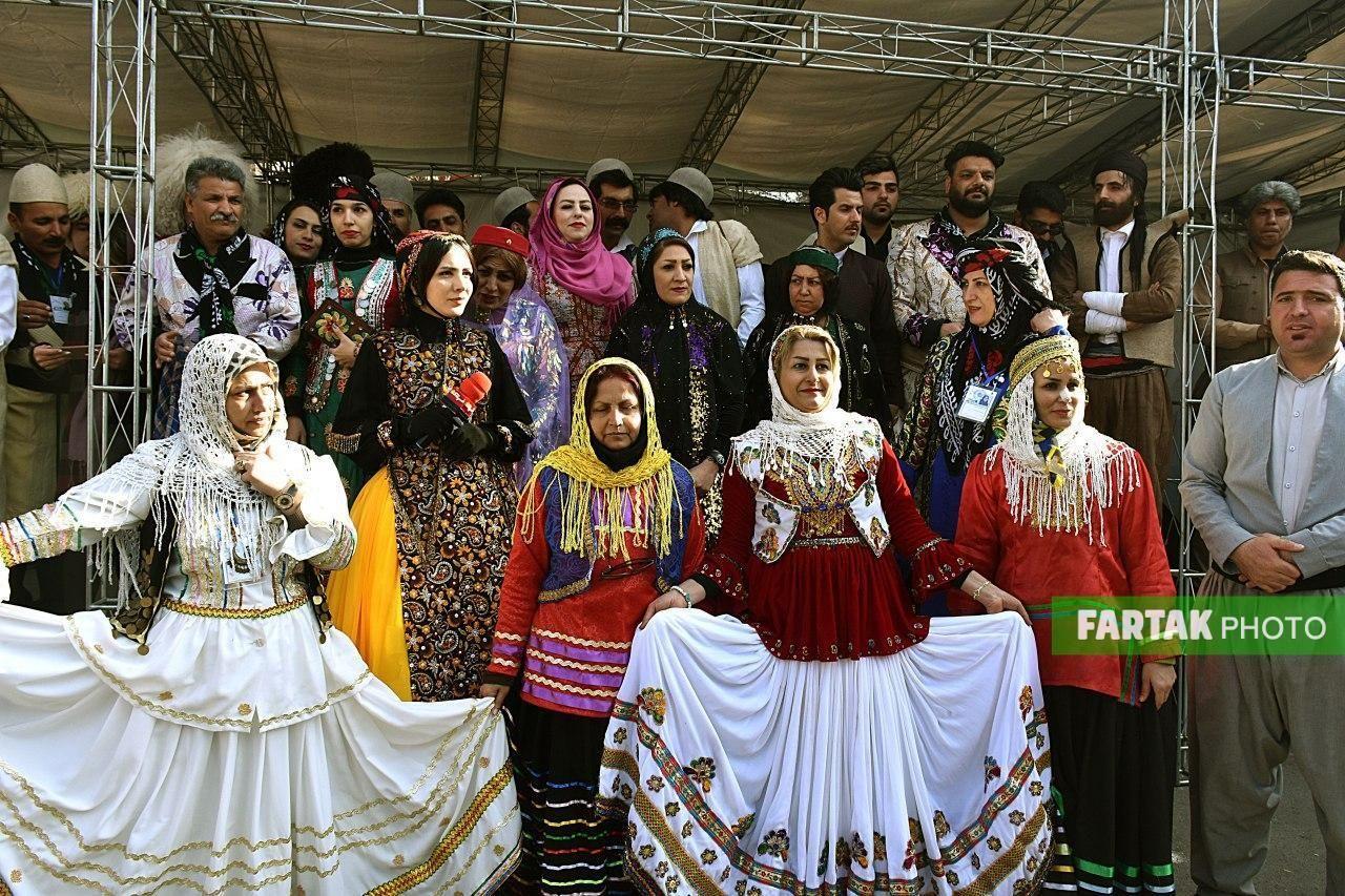 اقوام ایرانی در سیزدهمین نمایشگاه گردشگری