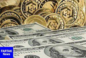 آخرین قیمت طلا، سکه و ارز در روز سه شنبه