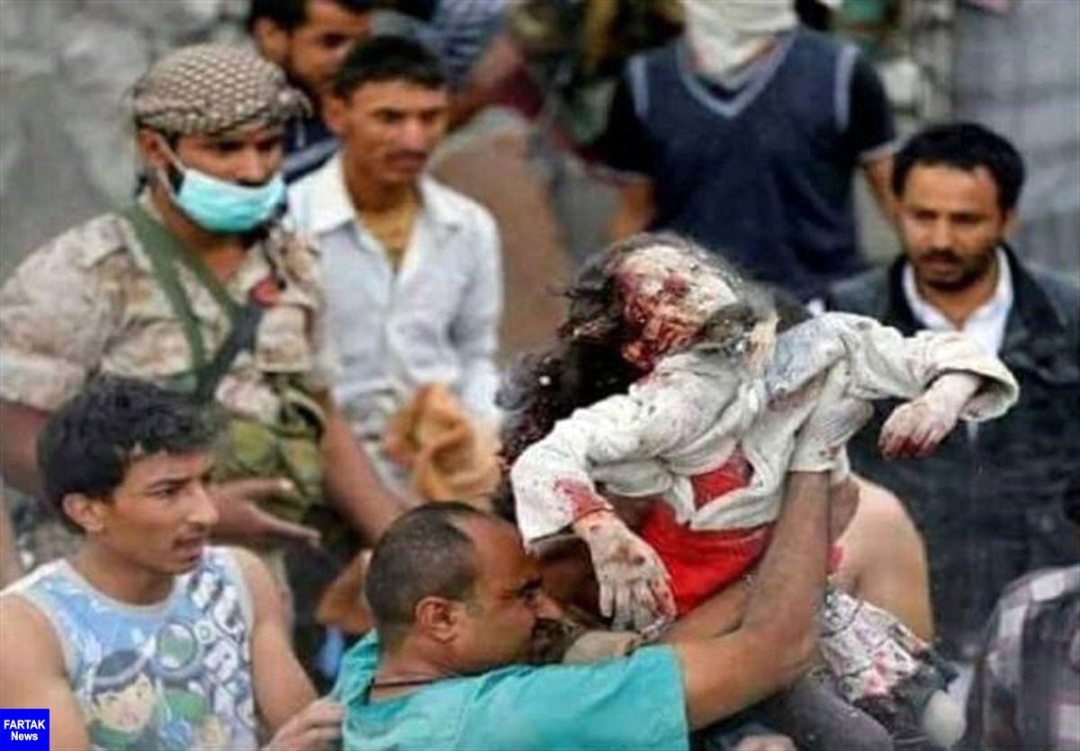 شهادت یک کودک یمنی درپی حمله توپخانه ای ائتلاف سعودی-آمریکایی