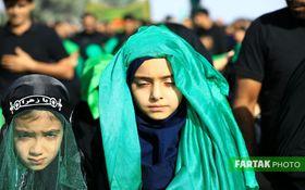 اختصاصی/ تصاویری دیدنی از مراسم عاشورای حسینی در روستای تاریخی قورتان اصفهان