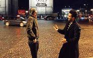 خوشگذرانی سردار ایرانی وخواننده لس آنجلسی در پاریس! + عکس
