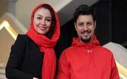 تیپ ست شده جواد عزتی و همسرش