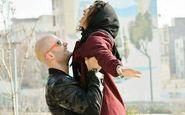 ژست متفاوت خانم بازیگر در آغوش همسرش! + عکس