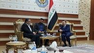 دیدار فرمانده ناجا با وزیر کشور عراق/تأکید بر تسیهل تردد زوار اربعین