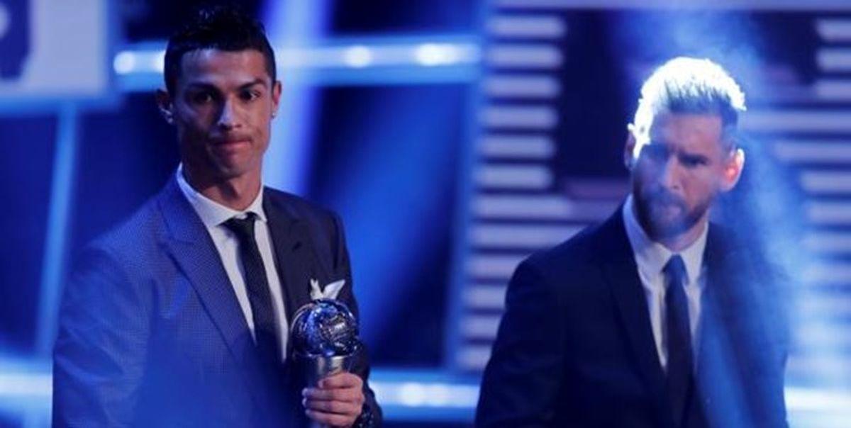 خروج رونالدو از جمع دو بازیکن برتر فرانس فوتبال بعد از 10 سال