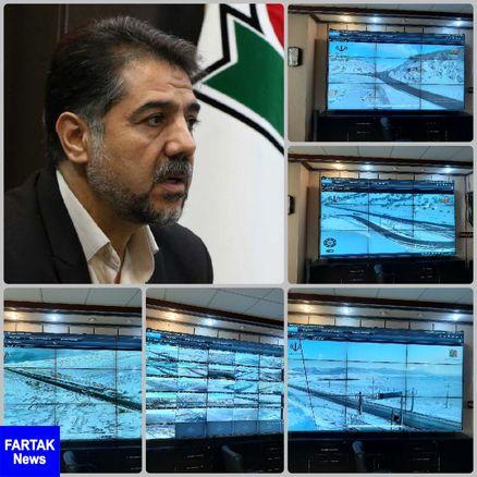کلیه محورهای مواصلاتی استان کرمانشاه در حال حاضر باز می باشد