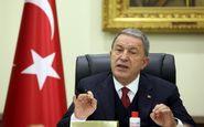 وزیر دفاع ترکیه: فرانسه بخشی از مشکل قرهباغ است نه راهحل آن