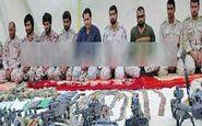 4 مرزبان آزاد شده از دست تروریستهای جیش الظلم به میهن بازگشتند
