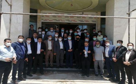 افتتاح نخستین ستاد مردمی آیتالله رئیسی در استان فارس+تصاویر