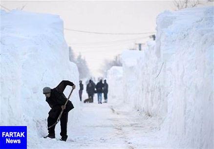 مرگ ۳ نفر بر اثر بارش برف