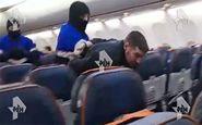 لحظه دستگیری عامل هواپیماربایی در روسیه + فیلم