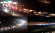 ترافیک نیمه سنگین در خروجی های شرقی تهران