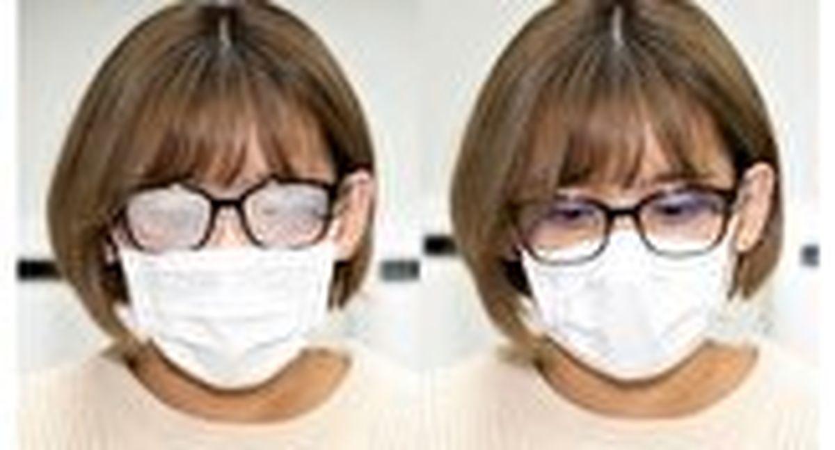 راهکارهایی برای جلوگیری از بخار شیشه عینک هنگام ماسک زدن