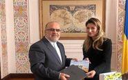 دیدار سفیر ایران با معاون اول وزارت خارجه اوکراین