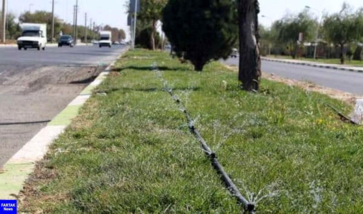 تنش آبی در فضای سبز شهری به دلیل خروج چاهها از دور آبیاری