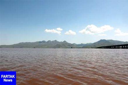 تراز دریاچه ارومیه به 1270.27 سانتی متر رسید