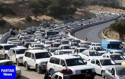 """شروع موج بازگشت زوار """"اربعین""""/ افزایش 30 برابری ترافیک محورهای کرمانشاه"""