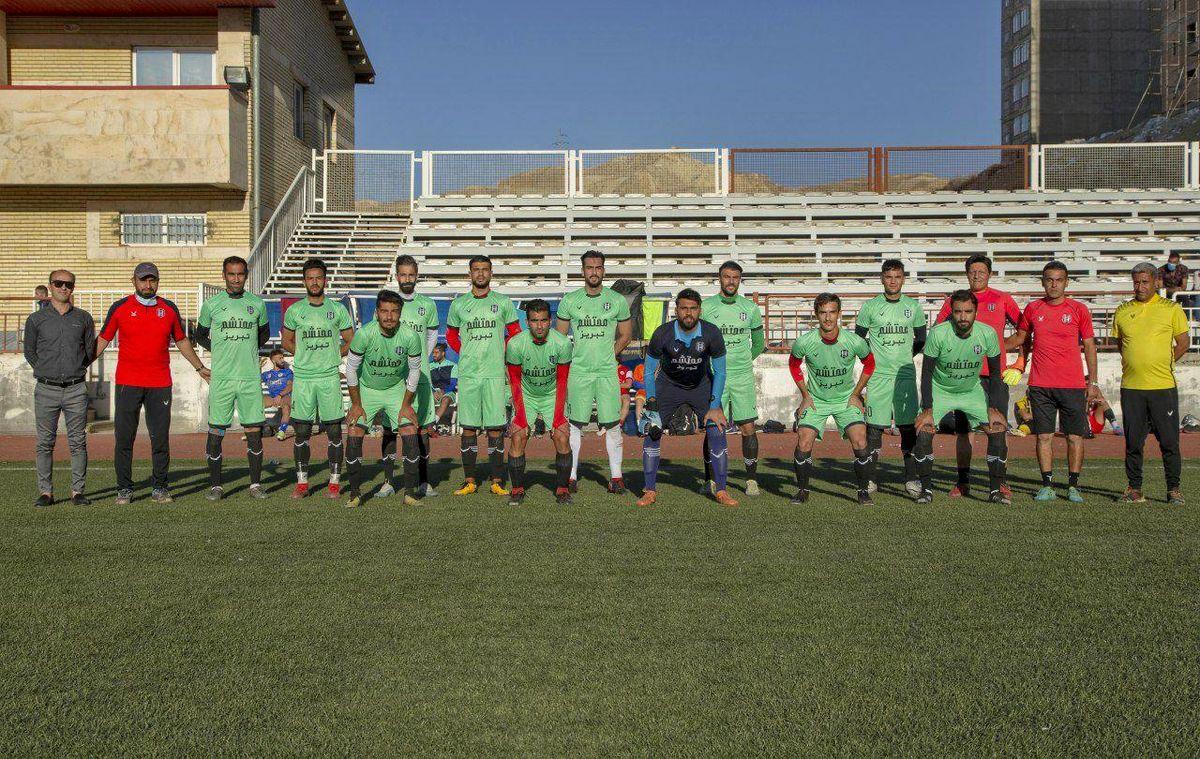 پیروزی پر گل محتشم در بازی تدارکاتی