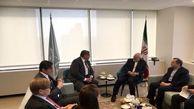 در نیویورک؛ ظریف با وزیر امور خارجه فنلاند دیدار کرد