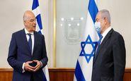 رایزنیهای ضد ترکیهای وزیر خارجه یونان در فلسطین اشغالی