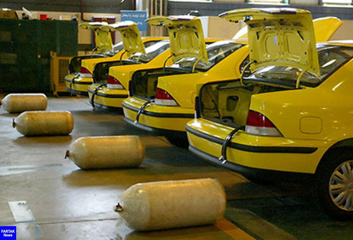 حدود ۶ هزار خودرو عمومی در کرمانشاه رایگان دوگانهسوز شدند