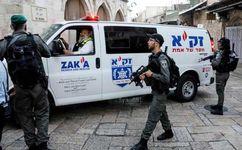 محاصره ساختمان وزارت دارایی تشکیلات خودگردان توسط ارتش اسرائیل