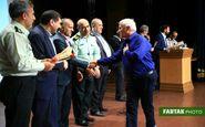 تجلیل از آزادگان سرافزاز هشت سال دفاع مقدس ناجا به روایت تصویر