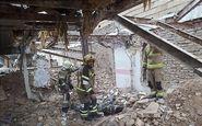 سقوط خونین کارگر از ساختمان قدیمی
