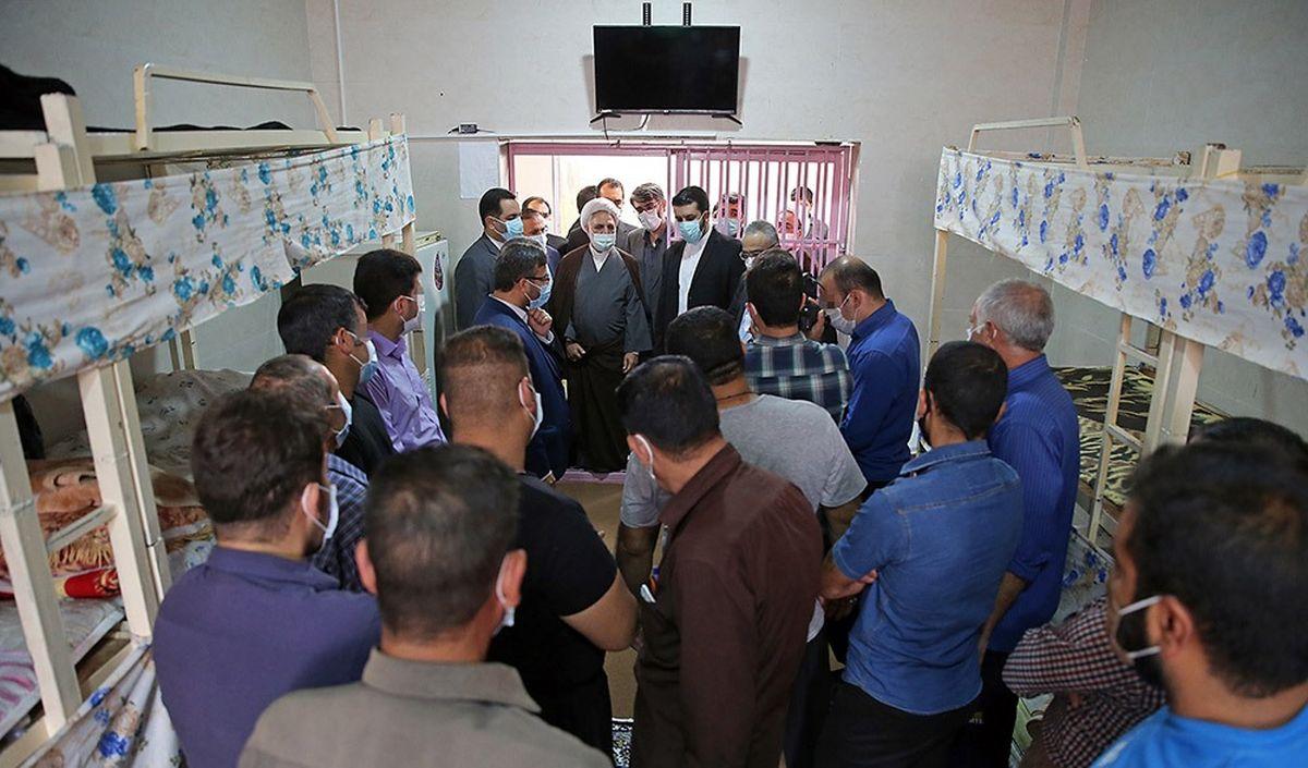 رییس قوه قضاییه از زندان ایلام بازدید کرد