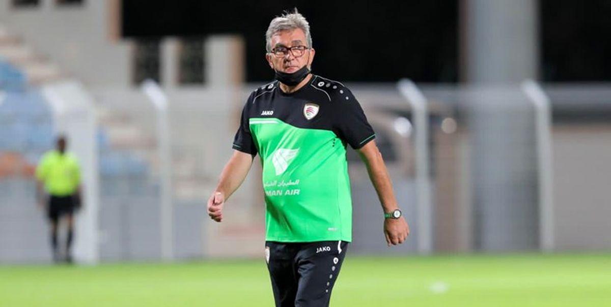 موضع گیری کاپیتان تیم ملی عمان به گاف برانکو