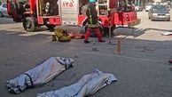 مرگ غم انگیز ۲ کارگر در کانال فاضلاب
