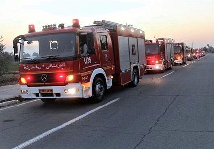 استقرار ۷۷ آتشنشانان تهرانی در کربلا، نجف و کوفه