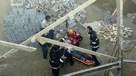 ریزش ساختمان حادثه آفرید/ مرد شیرازی زنده به گور شد+عکس