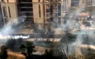 عملیات بزرگ سمپاشی خیابانها در چین برای مقابله با شیوع کرونا
