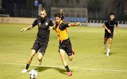 حضور چشمی در ترکیب ام صلال مقابل قطر