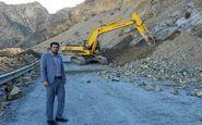 خسارت ۳ میلیارد ریالی به جاده دسترسی امامزاده «احمد» پلدختر