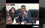 اخراج دو مدیرکل از جلسه ستاد بحران؛ استاندار کرمان: تا وقتی مشکل  را حل نکنید حق ندارید در جلسه حضور داشته باشید + فیلم