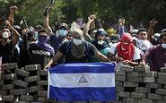 درگیری خیابانی در نیکاراگوئه + فیلم