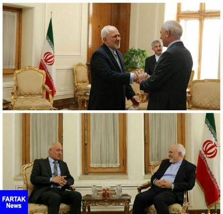 خداحافظی سفیر تاجیکستان در ایران با ظریف