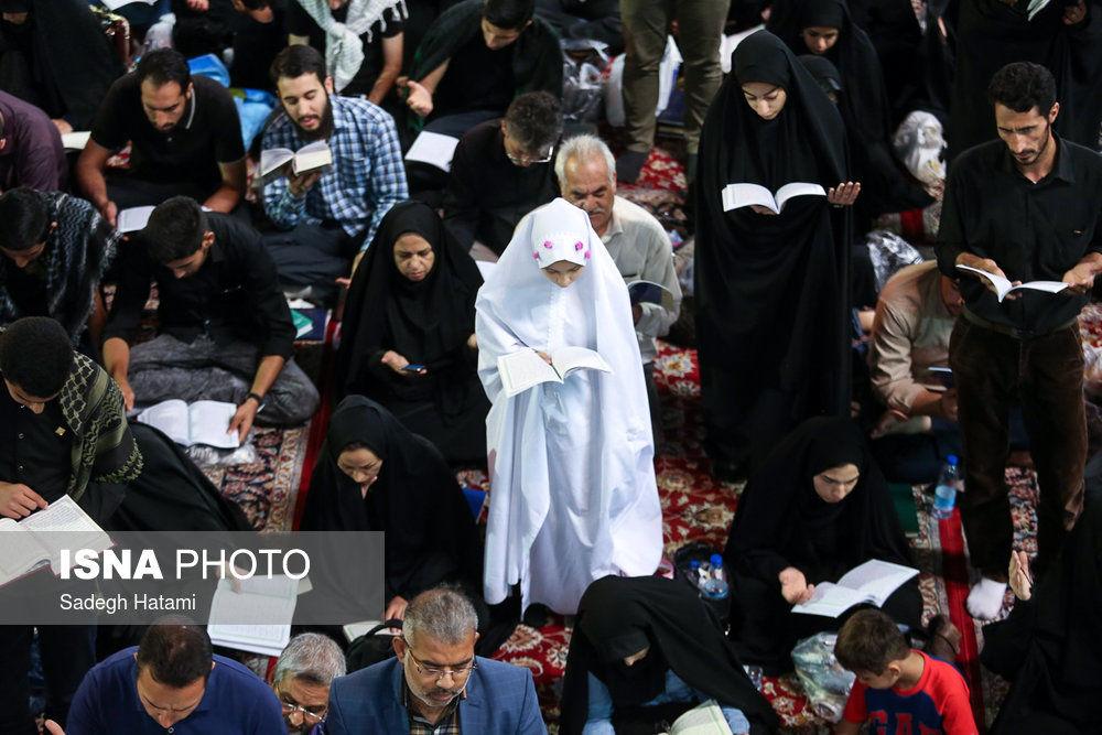 گزارش تصویری شب بیست و سوم ماه مبارک رمضان - مشهد