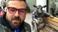 عکس دو نفره هومن سیدی و دخترش در روز پدر + عکس